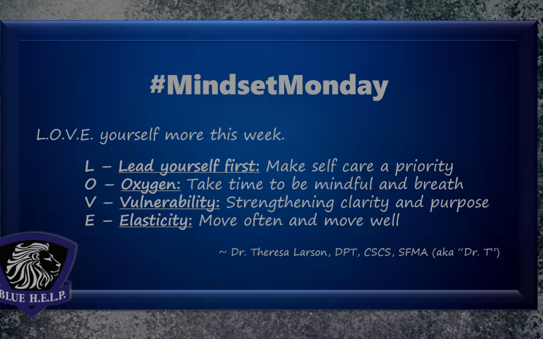 #MindsetMonday: L.O.V.E. Yourself