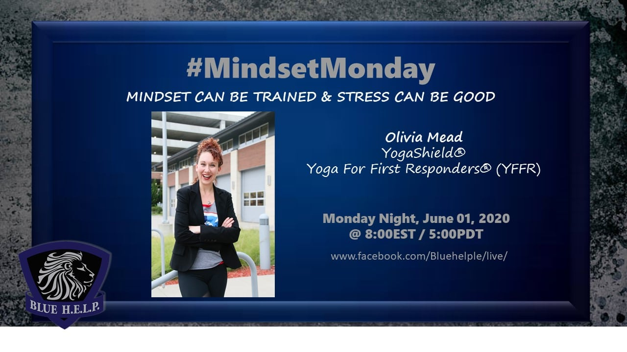 #MindsetMonday – MINDSET CAN BE TRAINED & STRESS CAN BE GOOD
